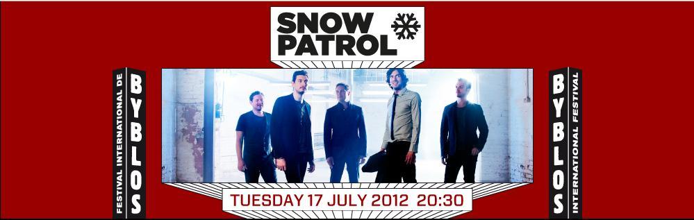 Snow Patrol Live At Byblos Festival