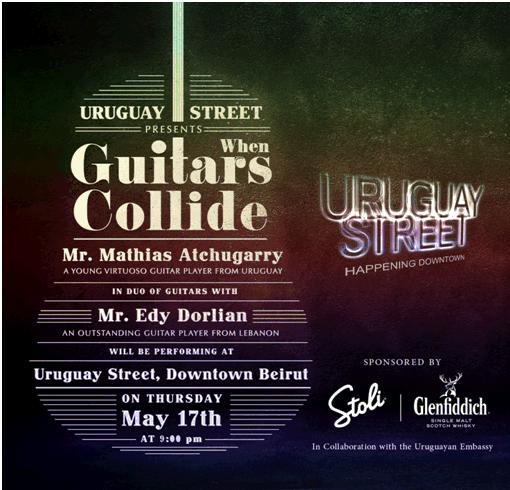 When Guitars Collide At Uruguay Street