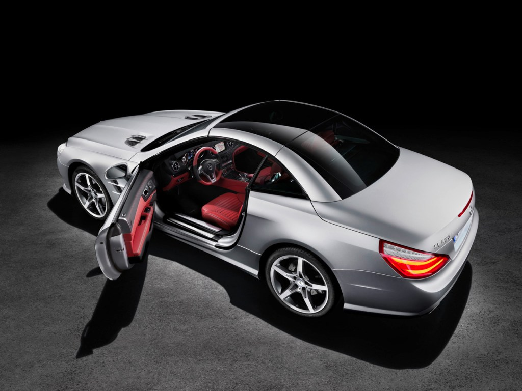 "The Future is Now with the 2013 ""SL 350"" by Mercedes-Benz!"
