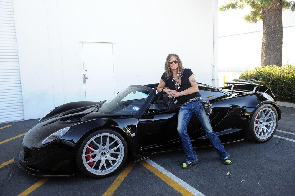 Speed Boost: 1st Hennessey Venom GT Spyder Delivered to Steven Tyler