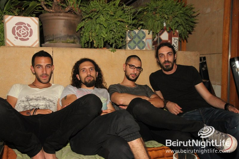 Lebanese Rock Band Near Surface Rocks Their Album Launch Event