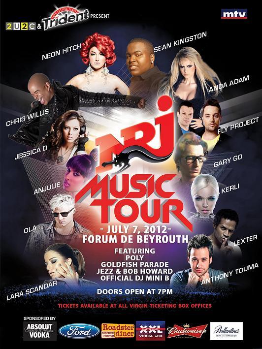 NRJ Music Tour 2012