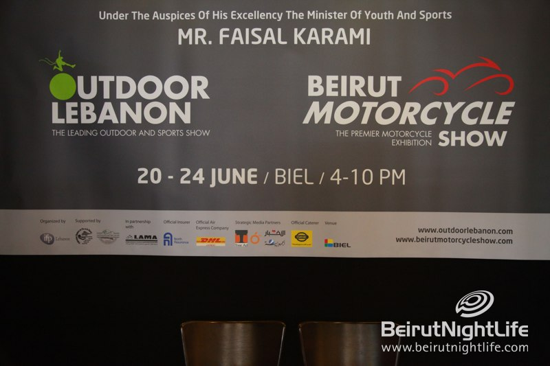 Launching of Beirut Motorcycle Exhibition Held With Outdoor Lebanon 2012