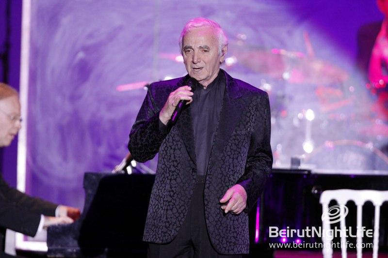 Aznavour at Jounieh International Festival 2012