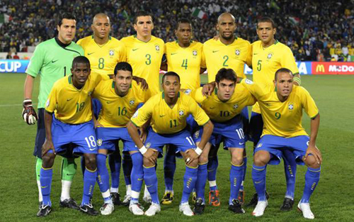 Brazil out of top 10 in new FIFA rankings