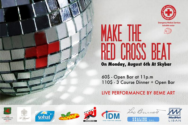 Make The Red Cross Beat At SkyBar