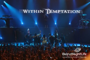 A Memorable Night of Pure Rock: Within Temptation Live in Lebanon