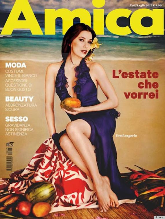 Eva Longoria and Diane Kruger Over-Photoshopped by Italian Magazine