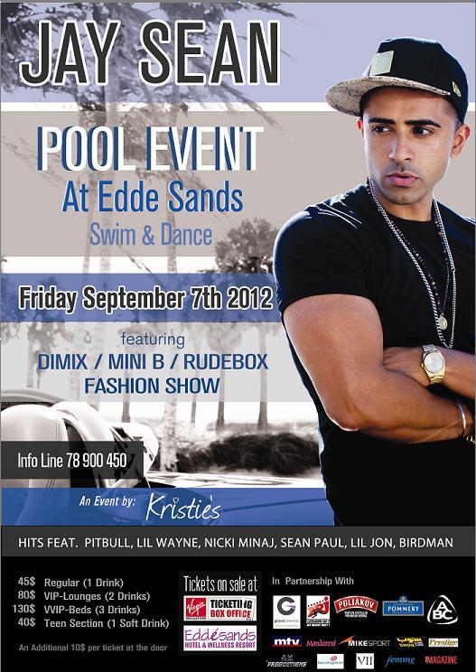 Jay Sean Live At Edde Sands