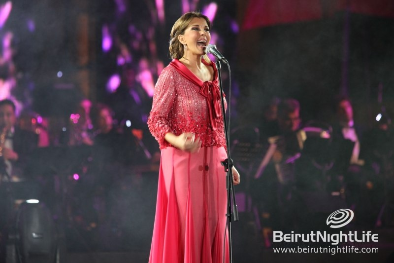 Music Icon Majida El Roumi Performs at the Batroun Festival
