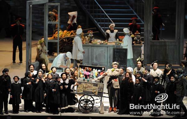 Opera La Boheme Wraps Up the Beiteddine Art Festival