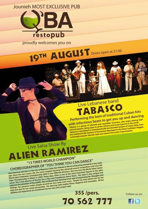 Tabasco Live At Q'ba