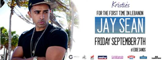 Congratulations From BeirutNightLife.com to the Jay Sean Concert Ticket Winners!