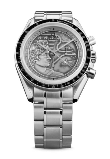 OMEGA commemorates the 40th anniversary of last lunar landing
