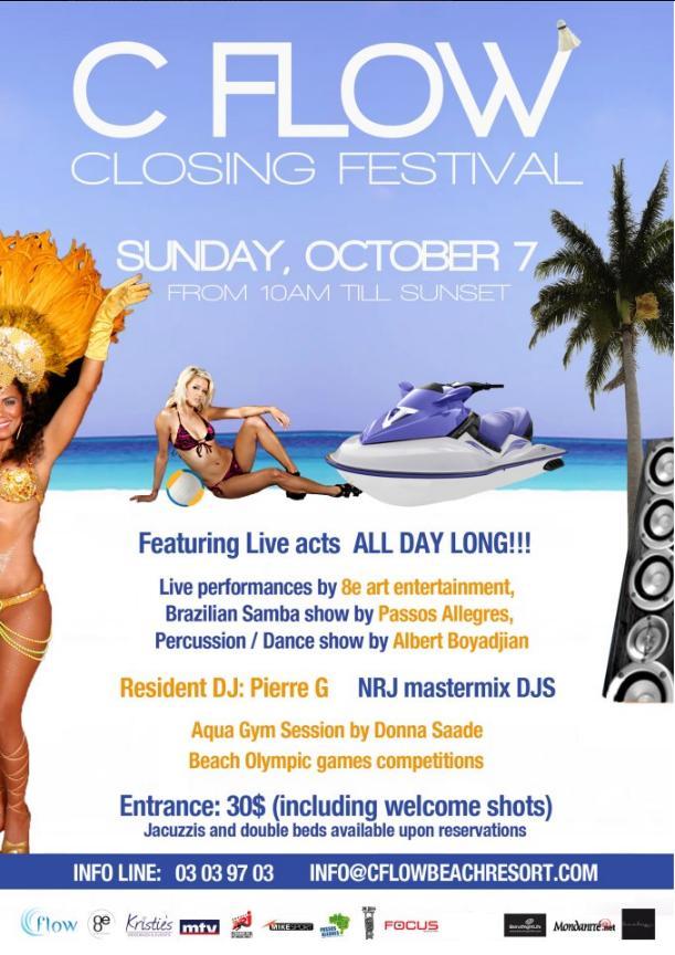 C Flow Closing Festival 2012