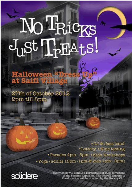 Saifi Village Celebrates Halloween for a Cause