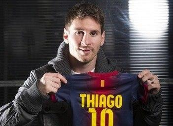Messi is a dad.. Superstar's girlfriend gives birth to baby Thiago