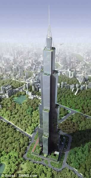 China to build world's tallest building- in just 90 days