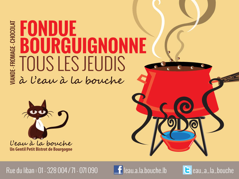 Fondue Bourguignonne At L'eau A La Bouche