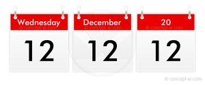 12-12-12 the last repetitive date you will ever see