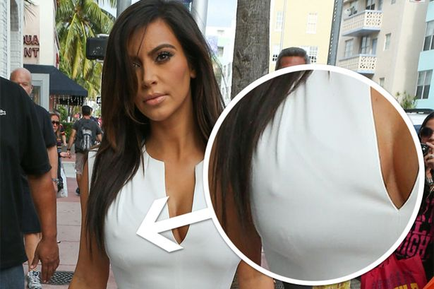 Kim Kardashian, another awkward moment!