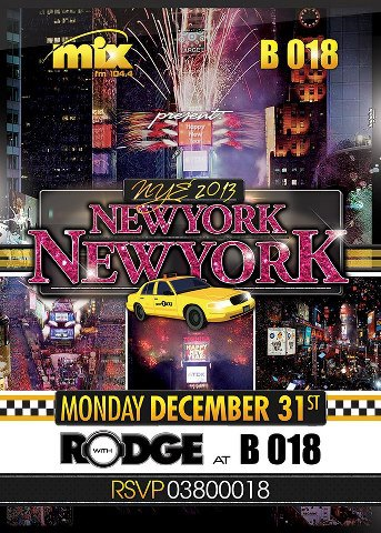 NEW YORK comes to BEIRUT for NYE!