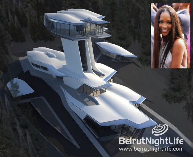 Naomi Campbell's Amazing Home In Rublyovka, Moscow