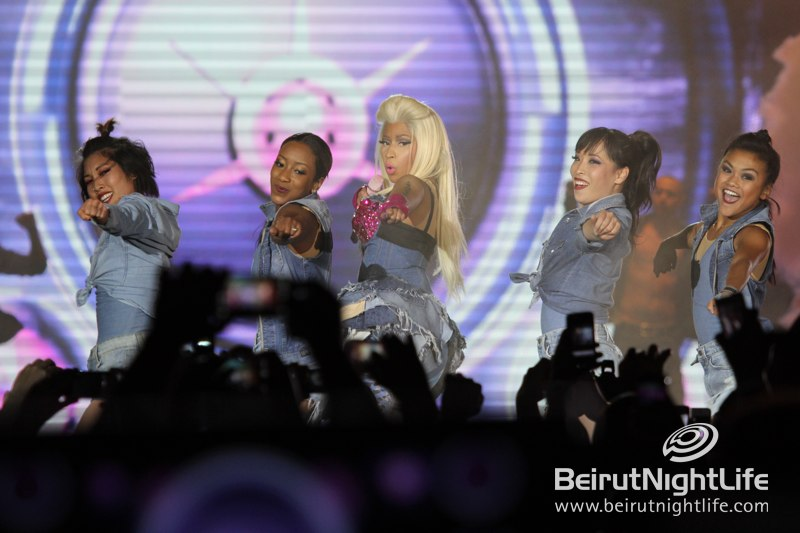 Nicki Minaj in Dubai 2012