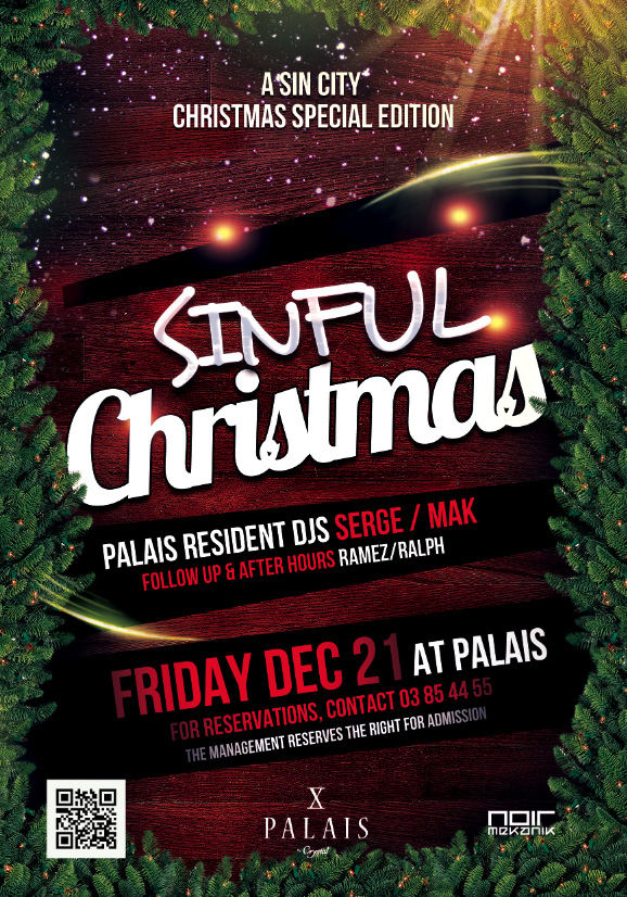 SinFul Christmas At Palais