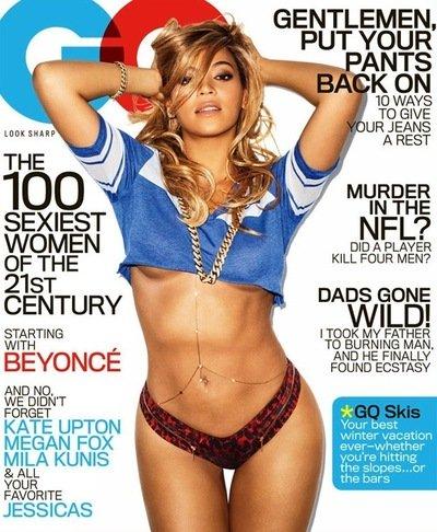 Beyonce GQ Cover: Hubba, Hubba!