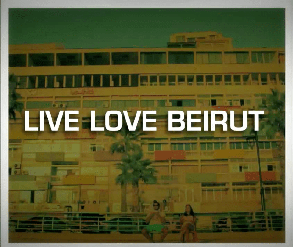 Beirut is in the Eye of the Beholder: A Love Campaign for Lebanon