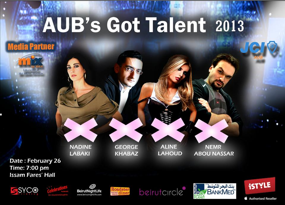 AUB's Got Talent 2013