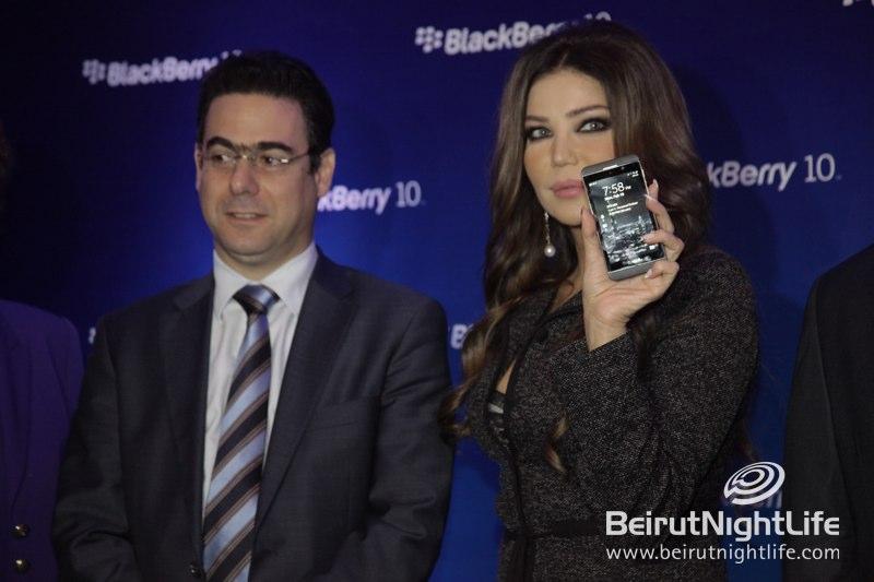 New Blackberry Z10 Kicks Off at Phoenicia Hotel