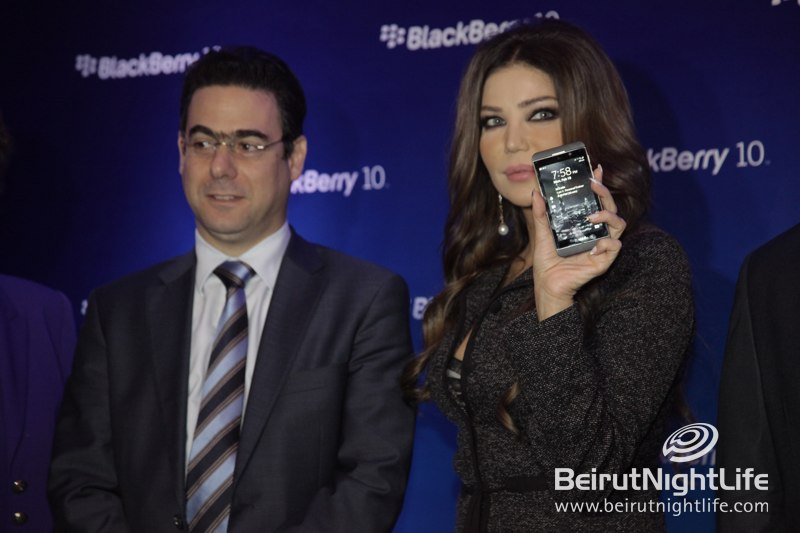 New Blackberry Z10 Kicks Off at Phoenicia Hotel
