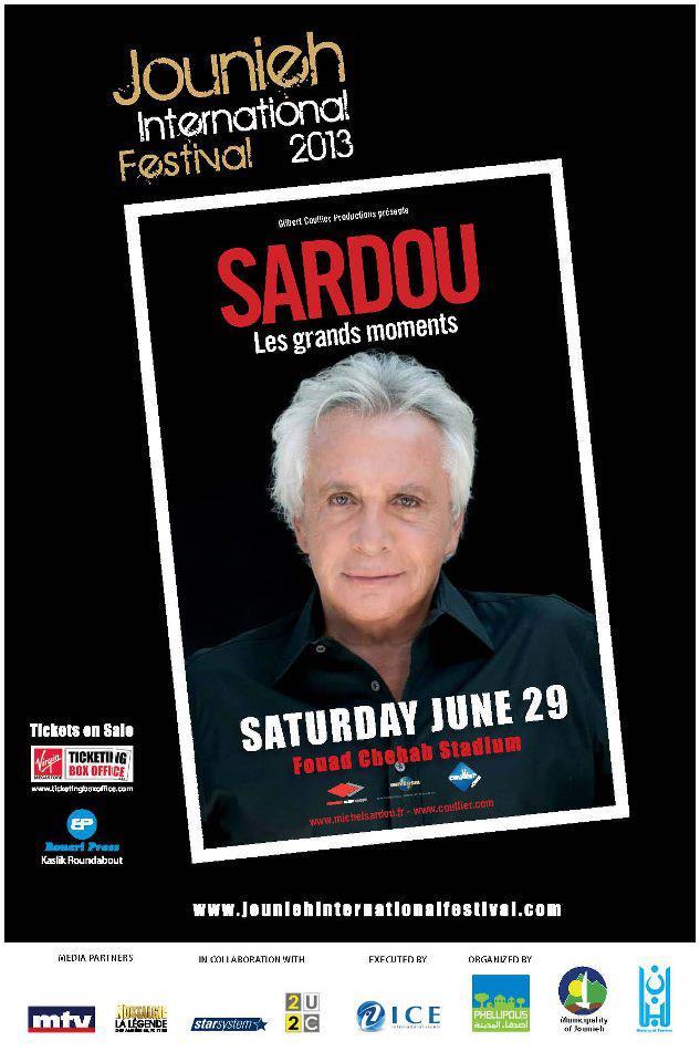 Michel Sardou au Liban