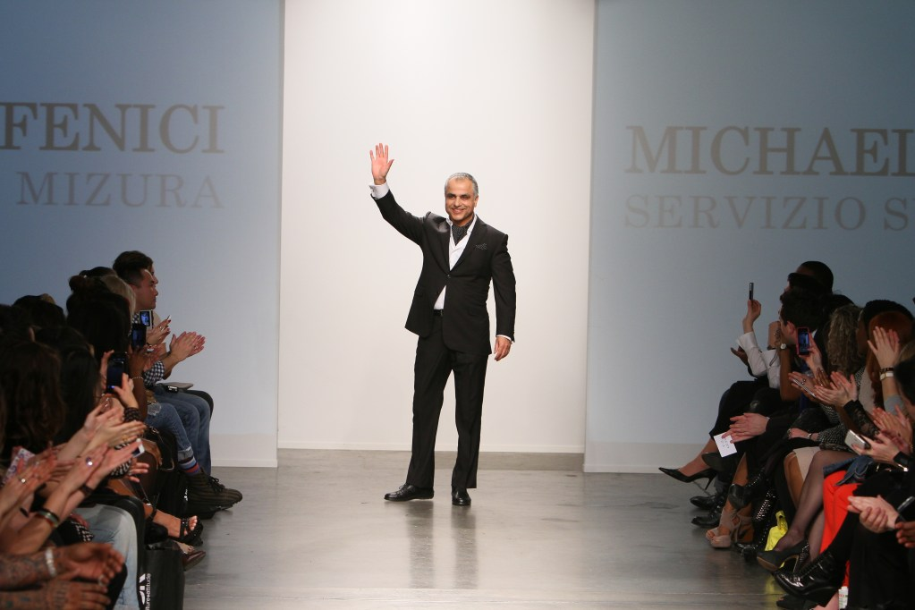 """Michael Fenici """"REFRESHING"""" & """"MAGNIFICENT"""" at New York Fashion Week"""