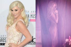 Kesha naked on Instagram showing just how fit she is now
