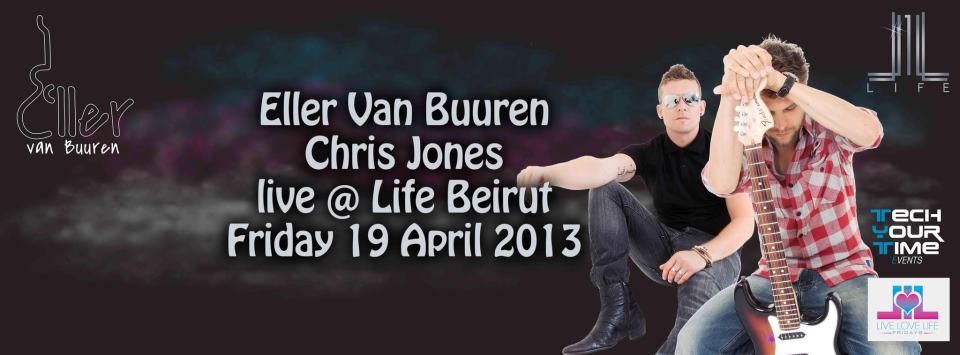 Eller Van Buuren and Chris Jones at LIFE