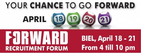 FORWARD Recruitment Forum 2013 at BIEL