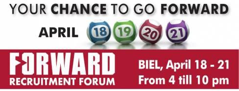 FORWARD Recruitment Forum 2013 at BIEL