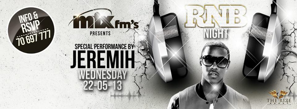 Jeremih at Pier 7