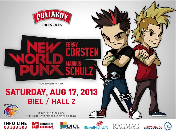 New World Punx with Ferry Corsten and Markus Schulz