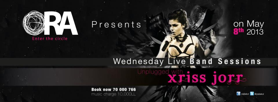 Unplugged with Xriss Jorr at Ora Beirut