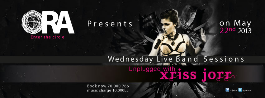 Wednesday Live Band Session featuring Unplugged with Xriss Jorr at Ora Beirut