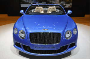 Bentley's GT Speed Convertible hits the Middle East