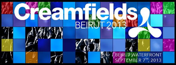 JK58 presents Creamfields Beirut 2013
