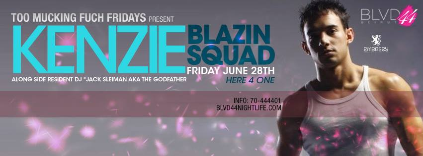 BLVD 44 Presents Blazin' Squad's KENZIE
