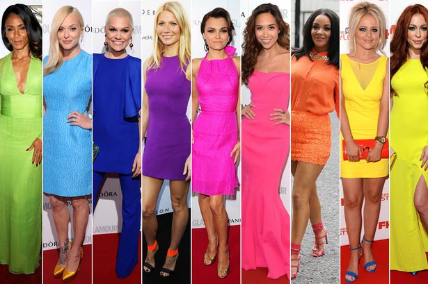 Kim Kardashian, Nicki Minaj, Caroline Flack: Everyone's wearing neon dresses