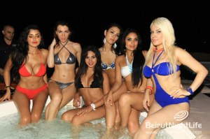 Invasion of the World's Next Top Models at Riviera!