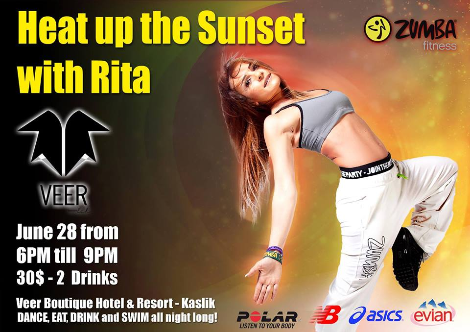Heat Up the Sunset with Rita